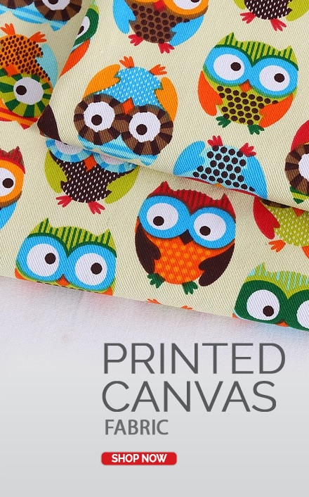 Printed Canvas Fabric